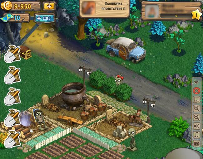 Зомби Ферма, Зомби Мания, Zombie Island - подробная информация об играх вко